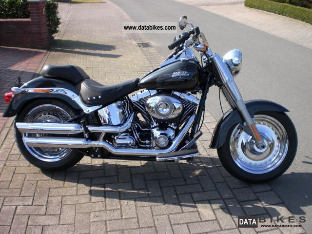 2009 Harley Davidson  2009er FLSTF Fat Boy ((1.584ccm / 6 Speed) Motorcycle Chopper/Cruiser photo