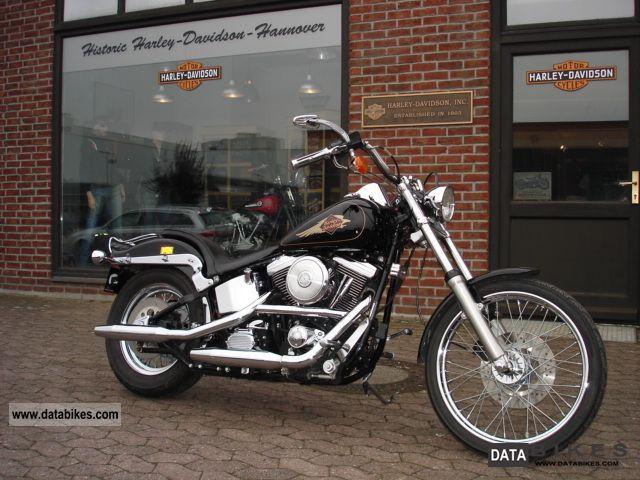 1996 Harley Davidson  Custom FXSTC Sotail EVO Motorcycle Chopper/Cruiser photo