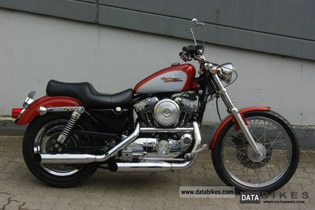 1999 Harley Davidson  Sportster 1200 Custom model as new Motorcycle Chopper/Cruiser photo