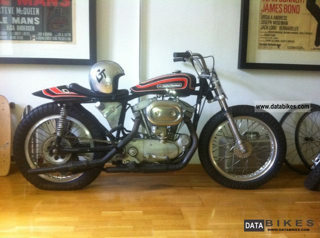 Harley Davidson  Dirt Tracker 1970 Vintage, Classic and Old Bikes photo