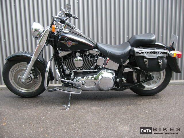2000 Harley Davidson Fat Boy Black Carburetor 3000 Km Motorcycle