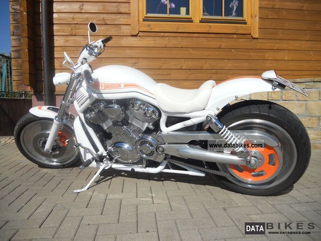 2002 Harley Davidson  VRSCA Motorcycle Chopper/Cruiser photo