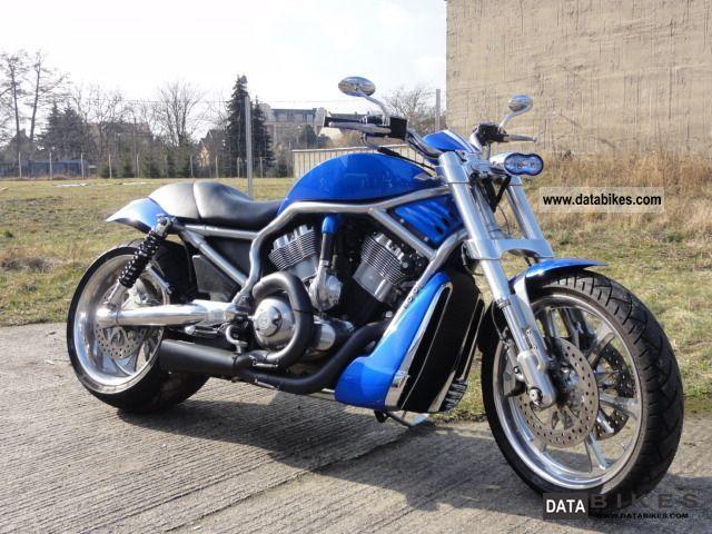 2005 Harley Davidson  Street Rod VRSCR 300 Motorcycle Chopper/Cruiser photo
