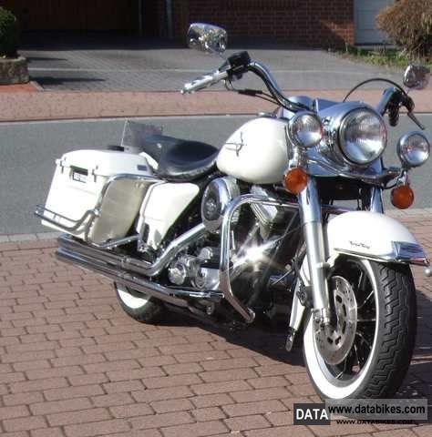 1996 Harley Davidson  Road King Police Motorcycle Chopper/Cruiser photo