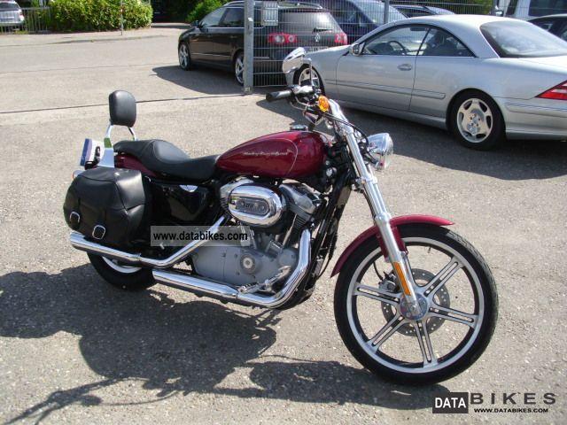 2006 Harley Davidson  XL883 SPORTSTER Motorcycle Chopper/Cruiser photo