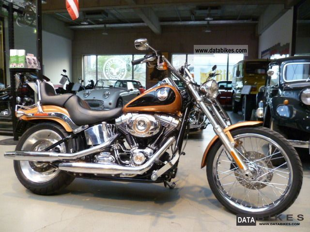 2008 Harley Davidson  FXSTC Softail Custom 105th Anniversary Motorcycle Chopper/Cruiser photo