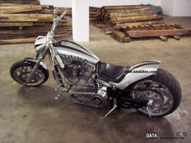 2001 Harley Davidson  ROLLING HARD CORE XL / ONE TIME TAG / REVTEC ENGINE Motorcycle Chopper/Cruiser photo