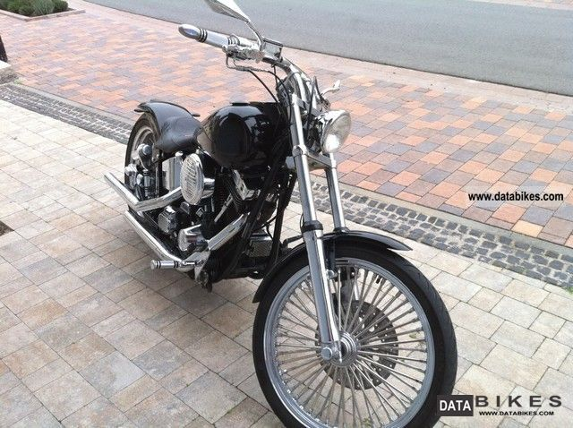 1993 Harley Davidson  FXST Softail Custom Conversion Motorcycle Chopper/Cruiser photo