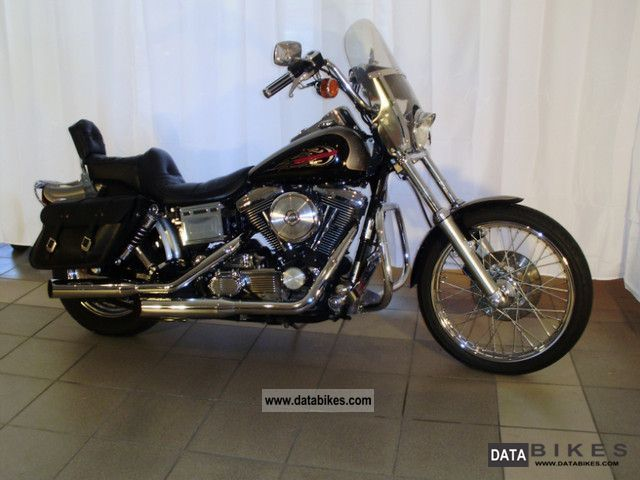 1996 Harley Davidson  Dyna Wide Glide FXDWG Motorcycle Chopper/Cruiser photo