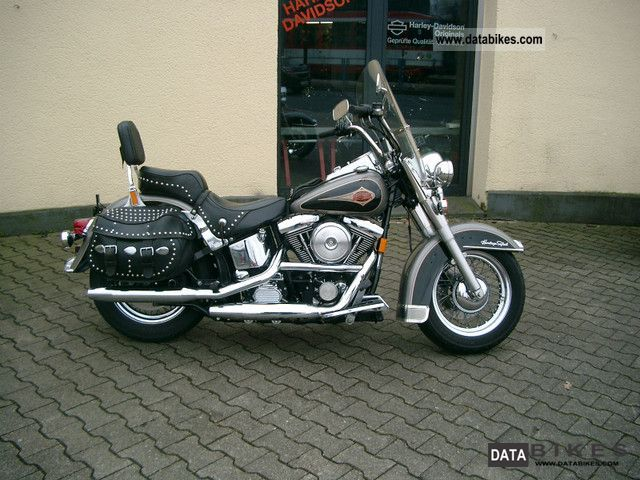 1996 Harley Davidson  FLSTC Heritage Softail Classic 1.Hand Motorcycle Chopper/Cruiser photo