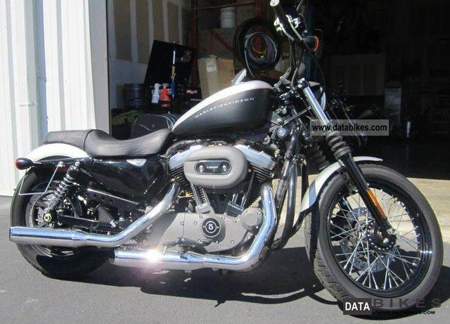2009 Harley Davidson  XL1200N Nightster Badland Motorcycle Chopper/Cruiser photo
