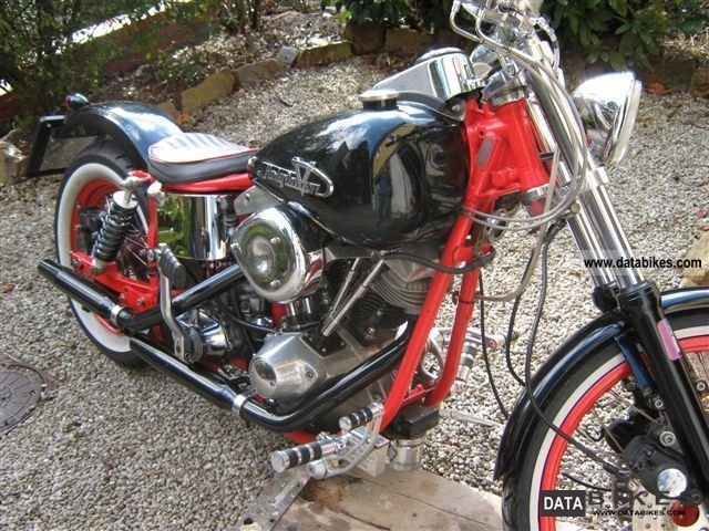 1981 Harley Davidson  Shovelhead FXB Motorcycle Chopper/Cruiser photo