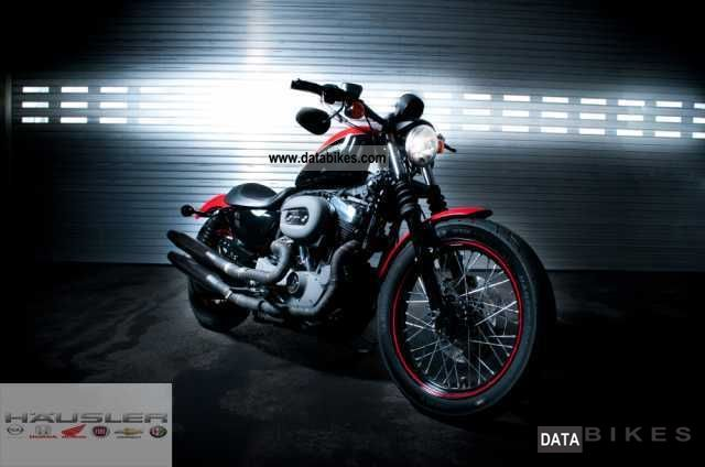 2011 Harley Davidson  XL1200N Nightster with sports exhaust Motorcycle Chopper/Cruiser photo