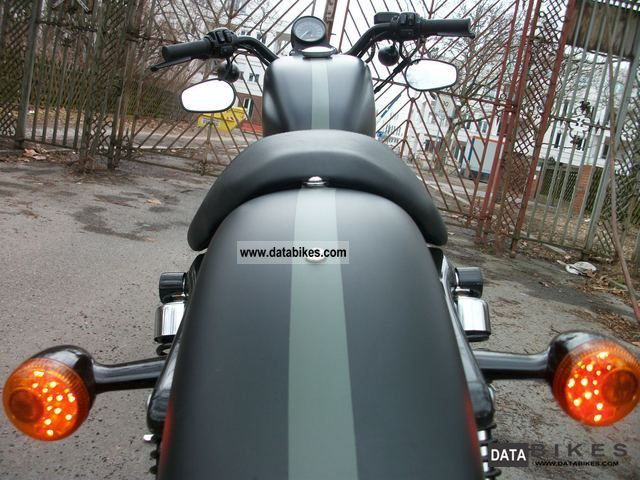 Harley Davidson  Iron 883 Sportster (possible conversion to 1200 48) 2011 Chopper/Cruiser photo
