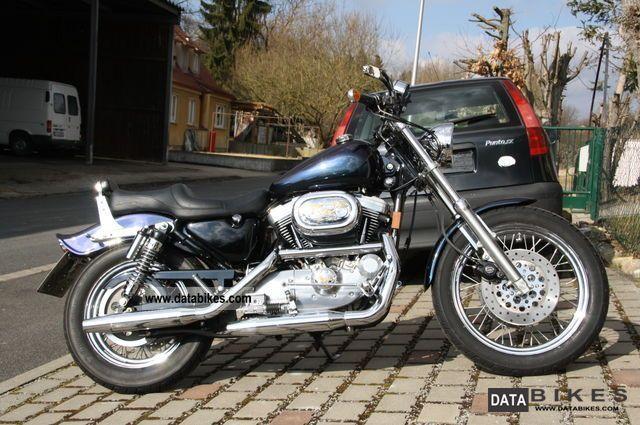 1997 Harley Davidson  Sportster XL 1200 Motorcycle Chopper/Cruiser photo