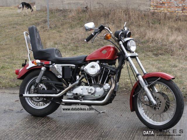 1981 Harley Davidson  XL / 1 1000 Sportster Ironhead Motorcycle Chopper/Cruiser photo