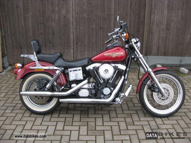 1995 Harley Davidson  Dyna Low Rider FXDL EVO Motorcycle Chopper/Cruiser photo