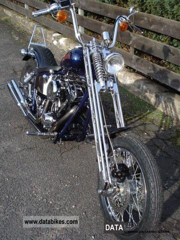 1993 Harley Davidson  Harley Springer AME SB 400 Motorcycle Chopper/Cruiser photo