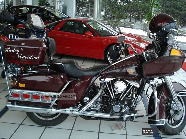 1985 Harley Davidson  FLT Motorcycle Tourer photo