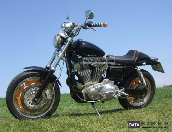 1989 Harley Davidson  XL 1200 Motorcycle Streetfighter photo