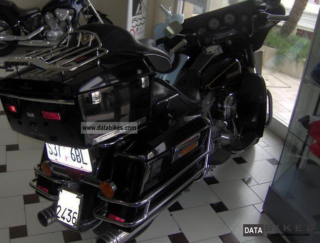 1998 Harley Davidson  1340 Electraglide Motorcycle Tourer photo