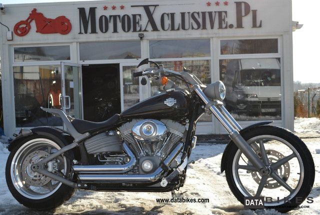 2008 Harley Davidson  Harley-Davidson Rocker FXCW inny MOTOEXCLUSIVE.P Motorcycle Chopper/Cruiser photo