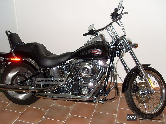 2007 Harley Davidson  Softail Custom Motorcycle Chopper/Cruiser photo