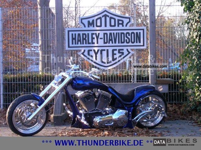 2008 Harley Davidson  Thunder Freestyle - Custom bike building Motorcycle Chopper/Cruiser photo