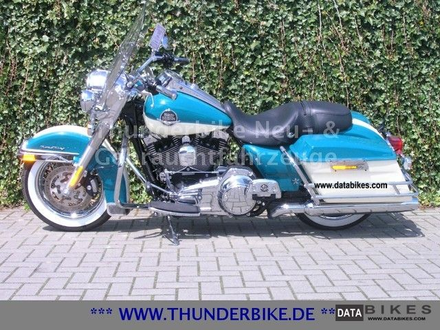 2008 Harley Davidson  FLHRC Road King Classic - two-tone paint Motorcycle Chopper/Cruiser photo