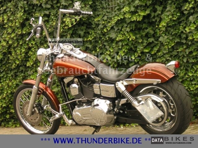 2007 Harley Davidson  FXDWG Dyna Wide Glide with lots of accessories Motorcycle Chopper/Cruiser photo