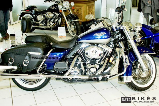 2006 Harley Davidson  Road King Classic FL1 Motorcycle Chopper/Cruiser photo