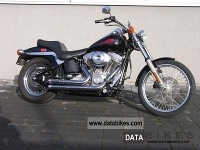2000 Harley Davidson  Softail fxst Motorcycle Chopper/Cruiser photo