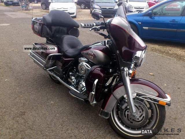 2007 Harley Davidson  Ultra Classic Electra Glide FL Motorcycle Tourer photo