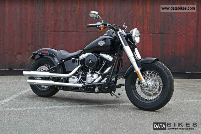 2011 Harley Davidson  FLS Softail Slim Motorcycle Chopper/Cruiser photo