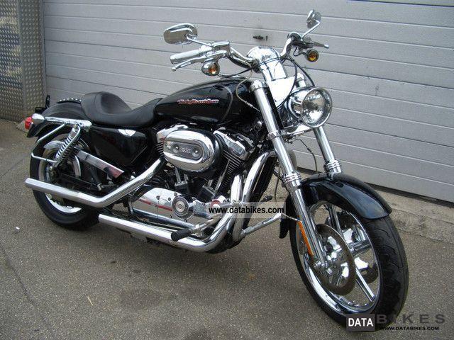 2007 Harley Davidson  XL 1200C Sportster Motorcycle Chopper/Cruiser photo