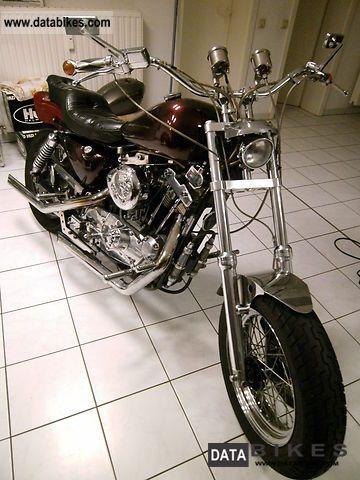 1983 Harley Davidson  Sportster 1000 Motorcycle Chopper/Cruiser photo