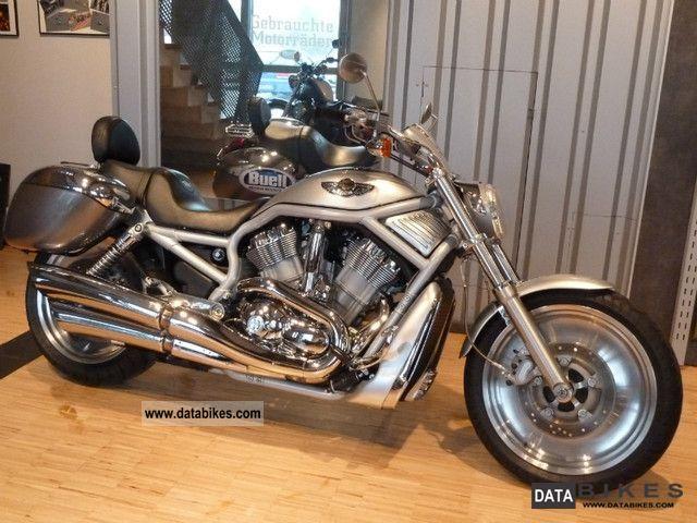 2003 Harley Davidson  VRSCA Motorcycle Chopper/Cruiser photo