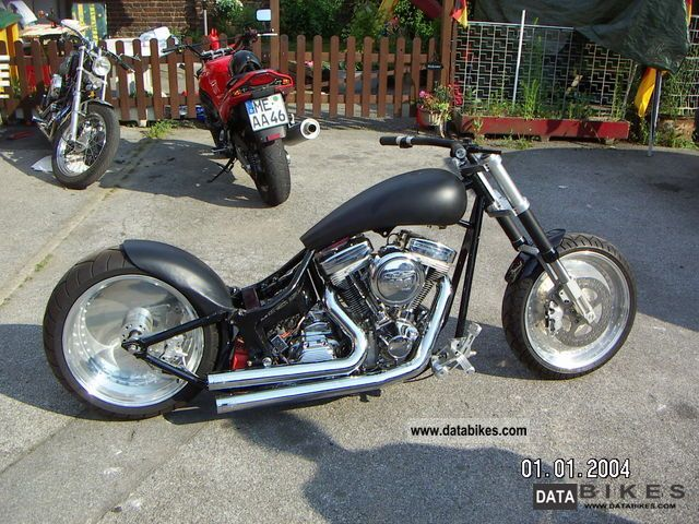 2005 Harley Davidson  Drag Style Swap to Ami Motorcycle Chopper/Cruiser photo