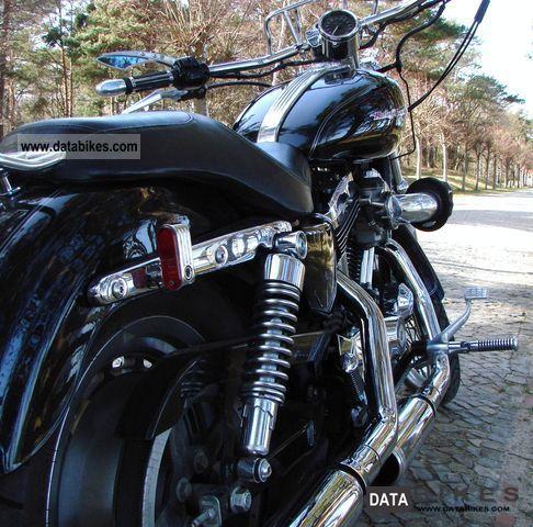 2004 Harley Davidson  C XL 1200 Custom Bike Motorcycle Chopper/Cruiser photo