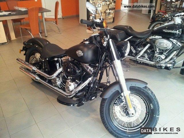 2011 Harley Davidson  FLS103 Softail Slim Motorcycle Chopper/Cruiser photo