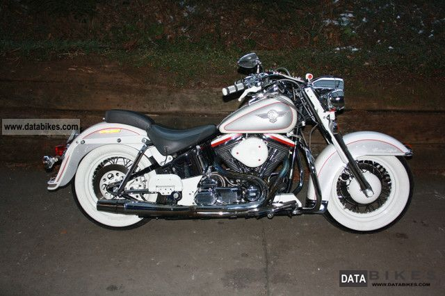 1993 Harley Davidson  FLSTN Softail Nostalgia Motorcycle Chopper/Cruiser photo