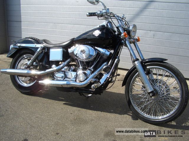 2001 Harley Davidson  Dyna Wide Glide Custom Motorcycle Chopper/Cruiser photo