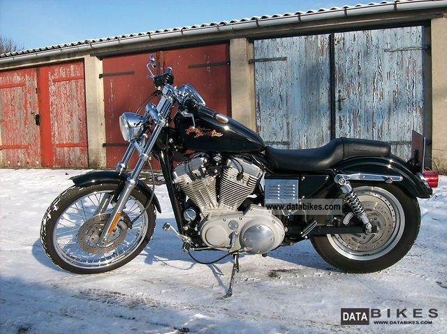 2000 Harley Davidson  Sportster 883 Custom XL1 Motorcycle Chopper/Cruiser photo