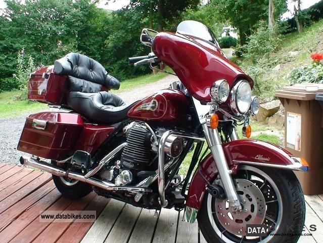 1996 Harley Davidson Electra Glide Clic Compressor Chopper Bike