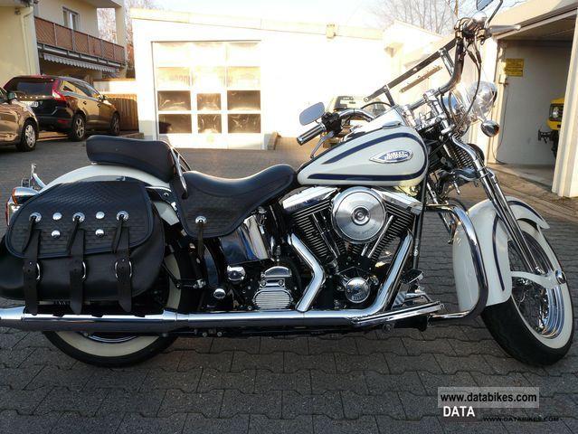 1997 Harley Davidson  Heritage Softail Springer Motorcycle Chopper/Cruiser photo
