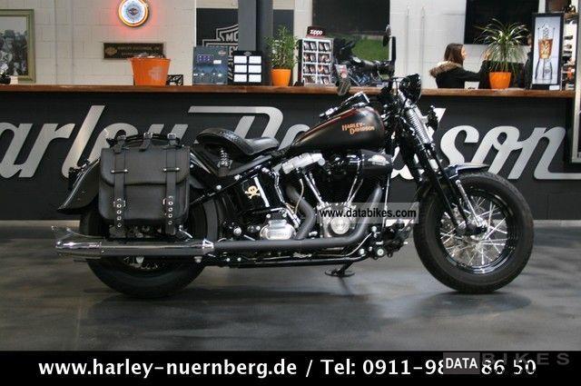2009 Harley Davidson  Cross Bones Softail conversion FLSTSB warranty Motorcycle Chopper/Cruiser photo