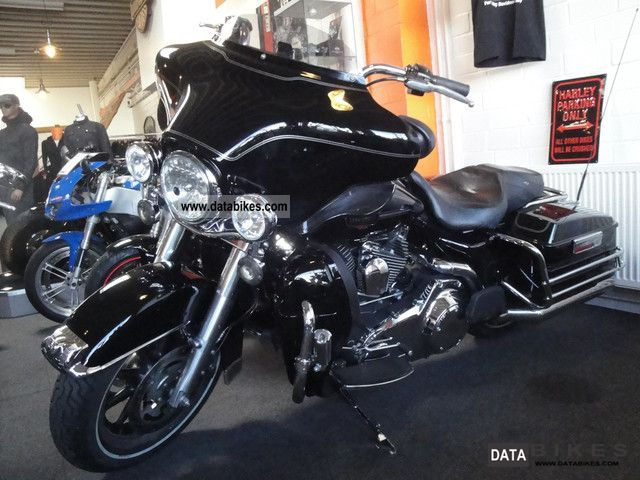 Harley Davidson  E Glide Classic Ultra Vivid Black 96 Cui ABS 2008 Chopper/Cruiser photo