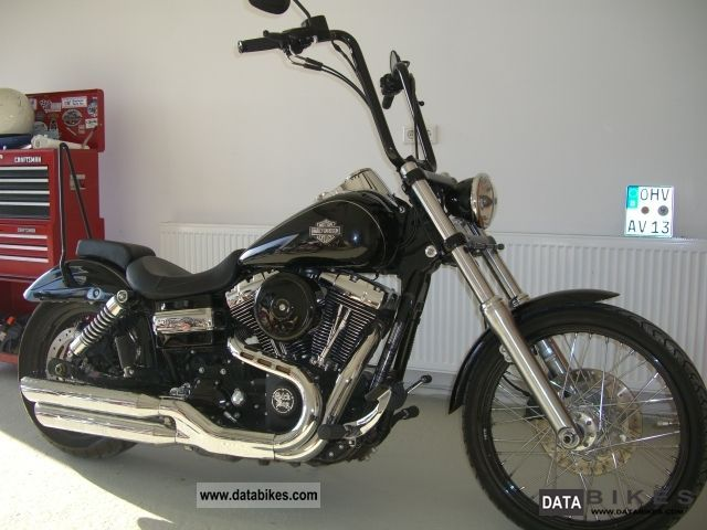 2011 Harley Davidson  Wide Glide FXDWG 2011 Motorcycle Chopper/Cruiser photo