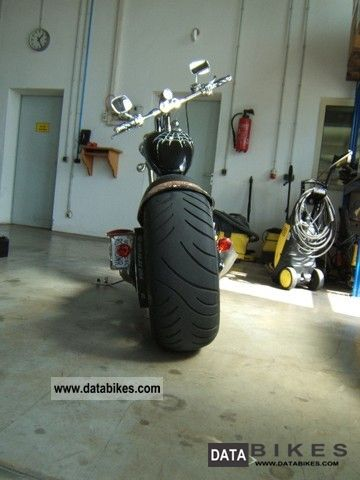 2005 Harley Davidson  Vengeance Black Widow Motorcycle Chopper/Cruiser photo