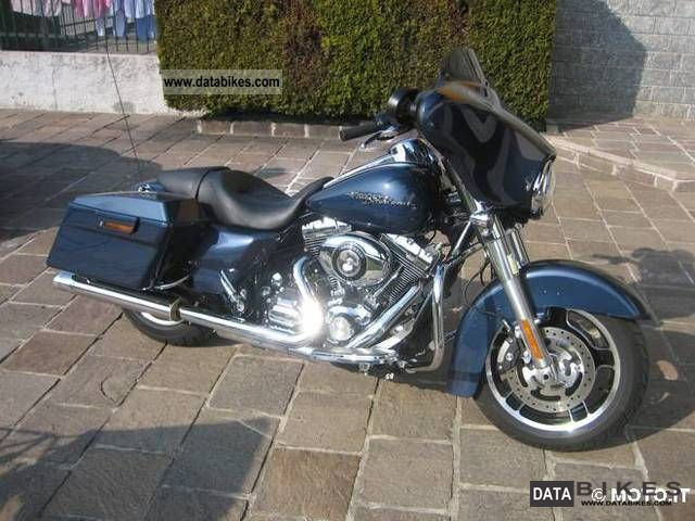 2009 Harley Davidson  street glide come nuova Motorcycle Chopper/Cruiser photo